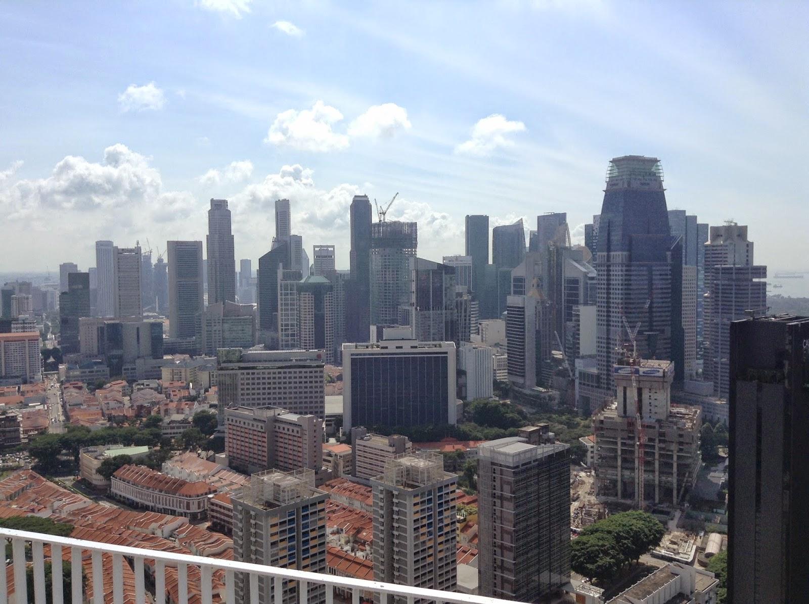 My Asian Summer: Marina Bay Et La Demesure De Singapour pour Piscine Singapour