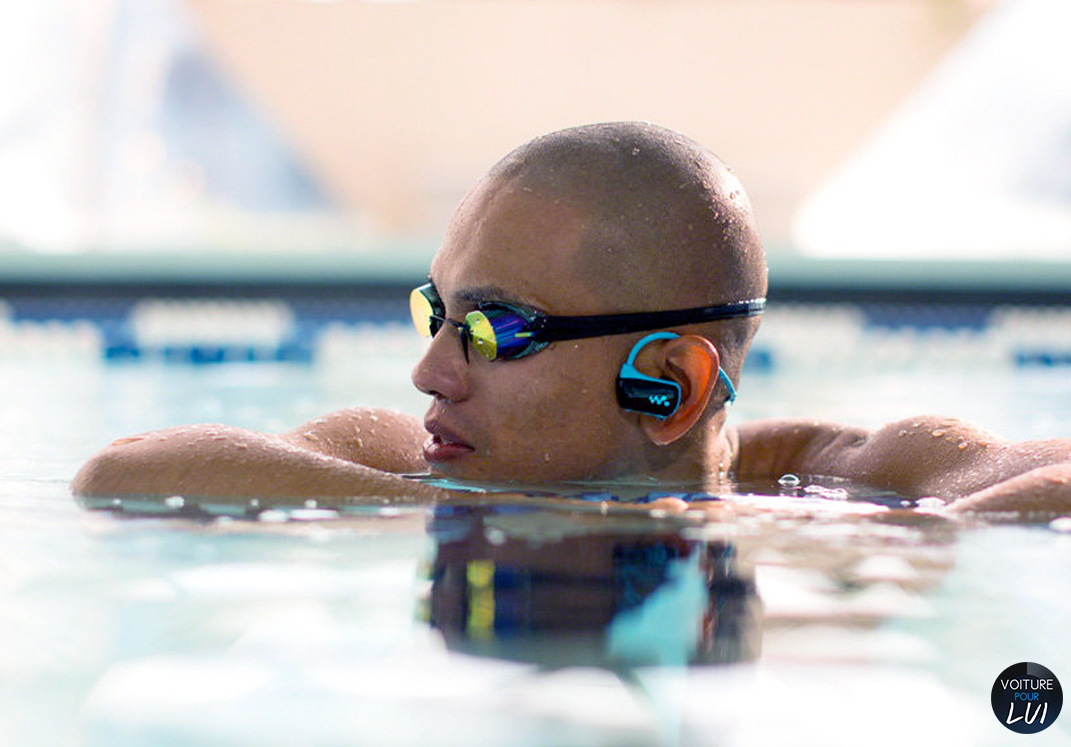 Nager En Musique, Test Du Mp3 Waterproof De Sony concernant Musique Piscine