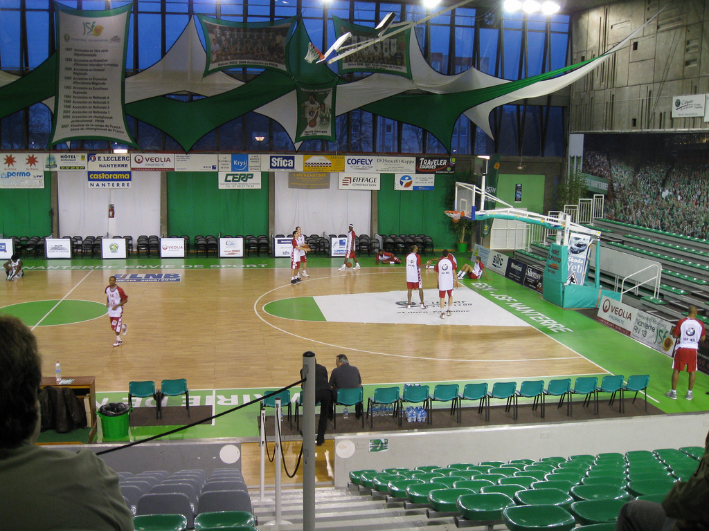 Nanterre] Palais Des Sports (1,499 -> 3,000) - Jsf : Basket ... intérieur Piscine Du Palais Des Sports À Nanterre Nanterre