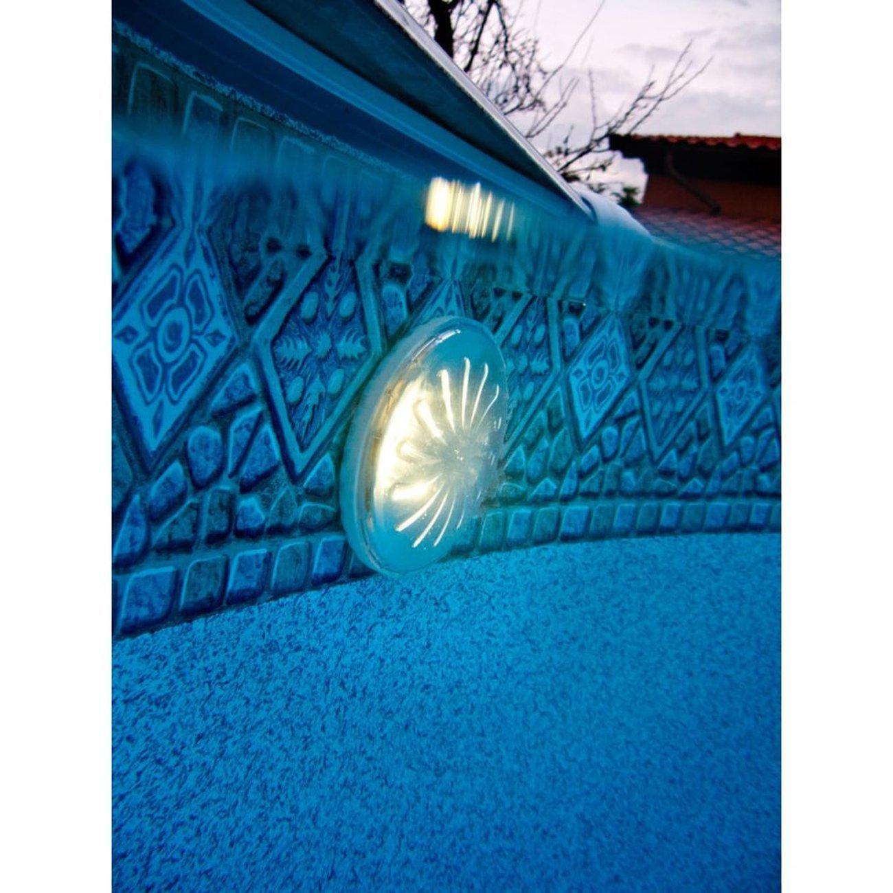 Natation Gre Gre Lampe Led Magnétique Pour Piscine Hors Sol 2 Pcs Blanc dedans Solde Piscine Hors Sol