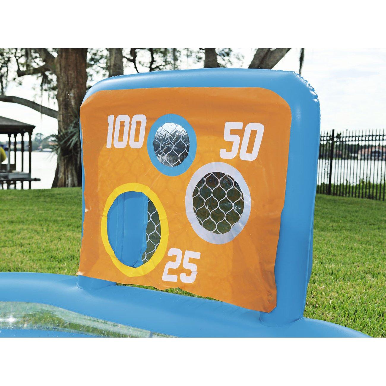 Natation Habitat Et Jardin Piscine Enfant - Jeux D'adresse - 2.37 X 1.52 X  0.94 M pour Piscine Enfant Pas Cher
