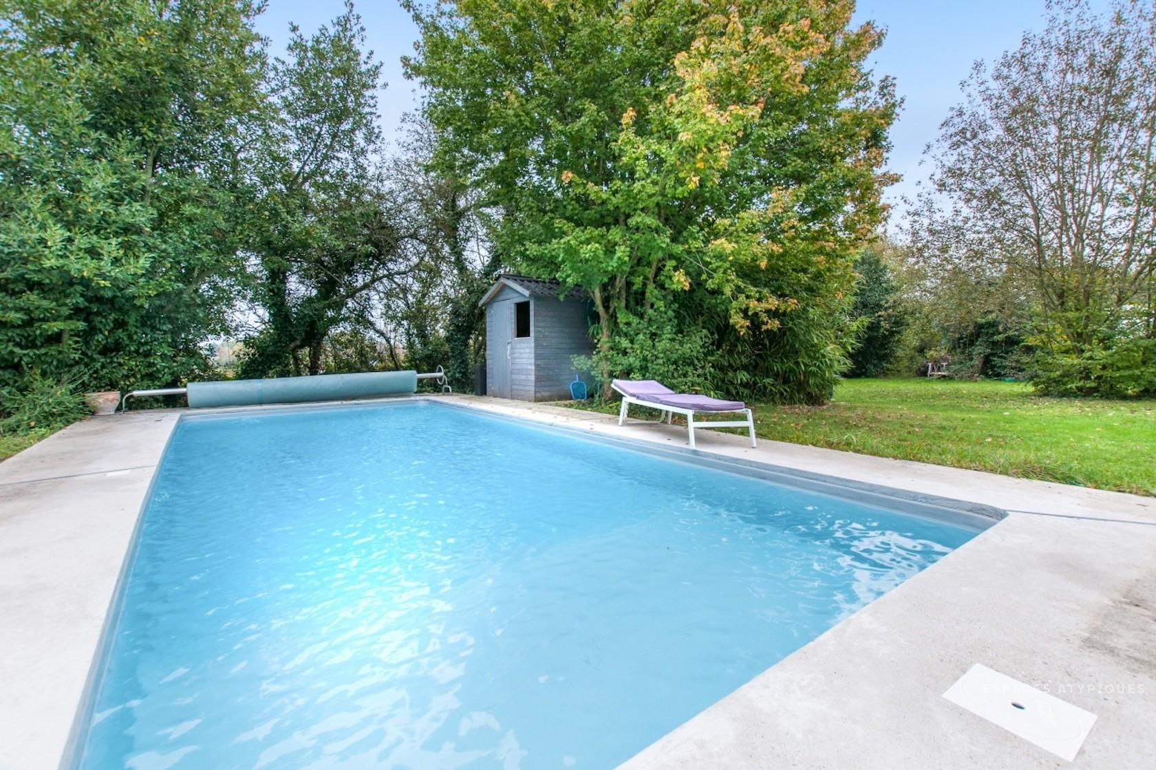 Nemours, St Ange Le Vieil : Stone Country House With Pool To ... avec Piscine De Moret Sur Loing