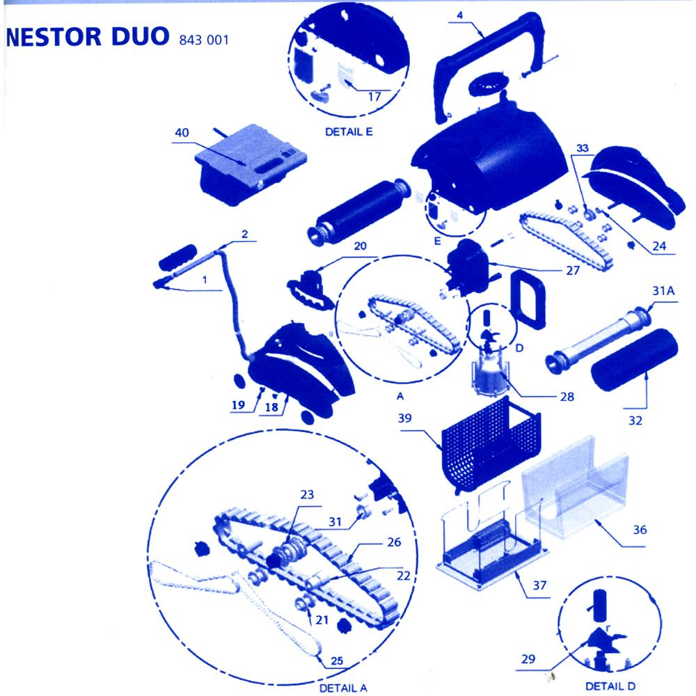 Nestor Duo Et Uno - France Accessoires Piscines concernant France Accessoires Piscine