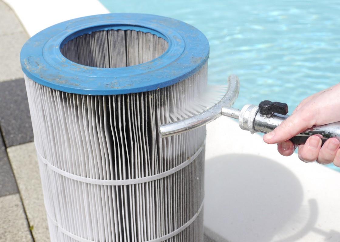 Nettoyeur De Cartouches - Piscines Waterair destiné Filtre A Cartouche Pour Piscine