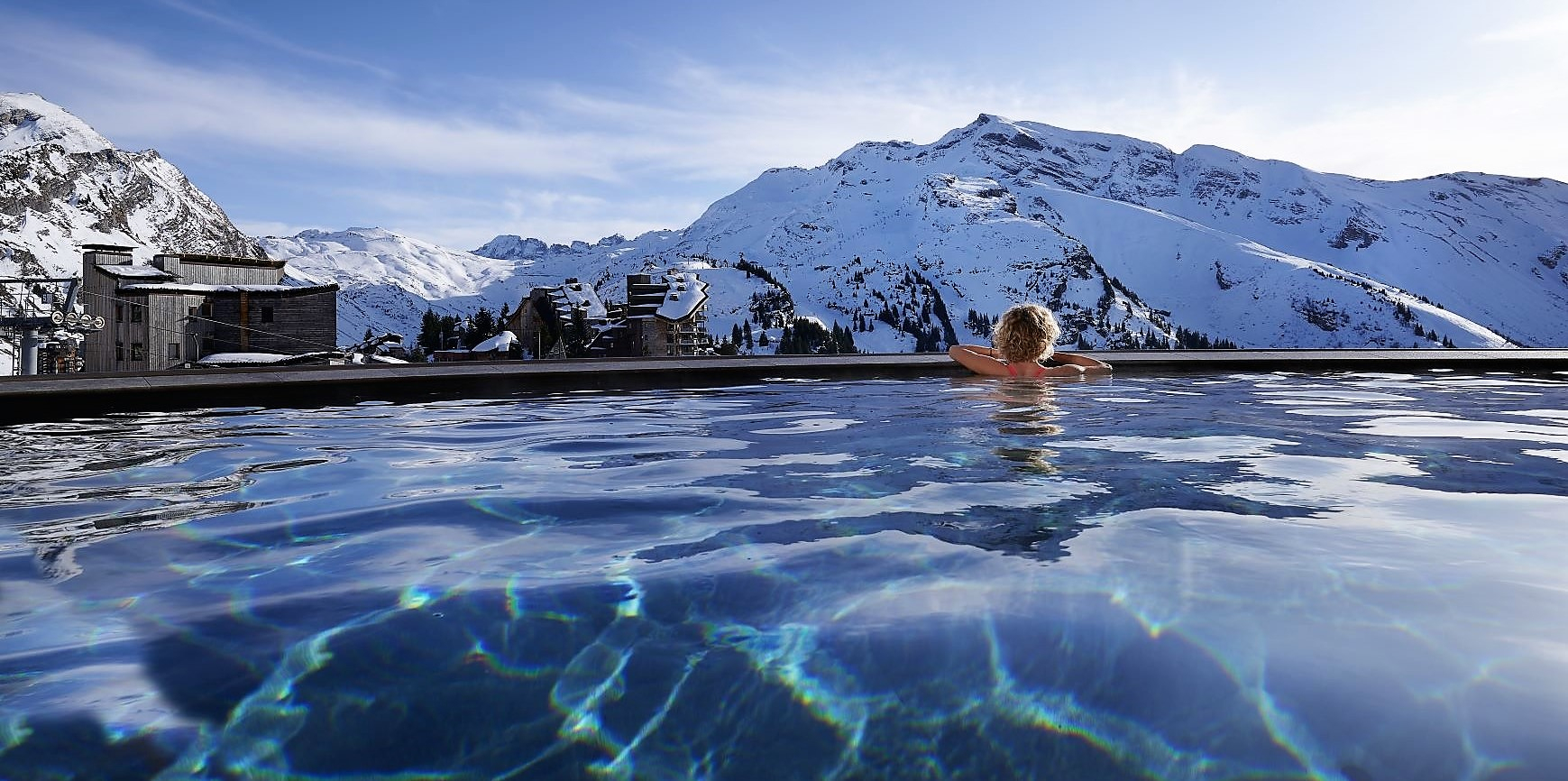 New Ski Accommodation In The French Alps For This Winter destiné Piscine Tignes