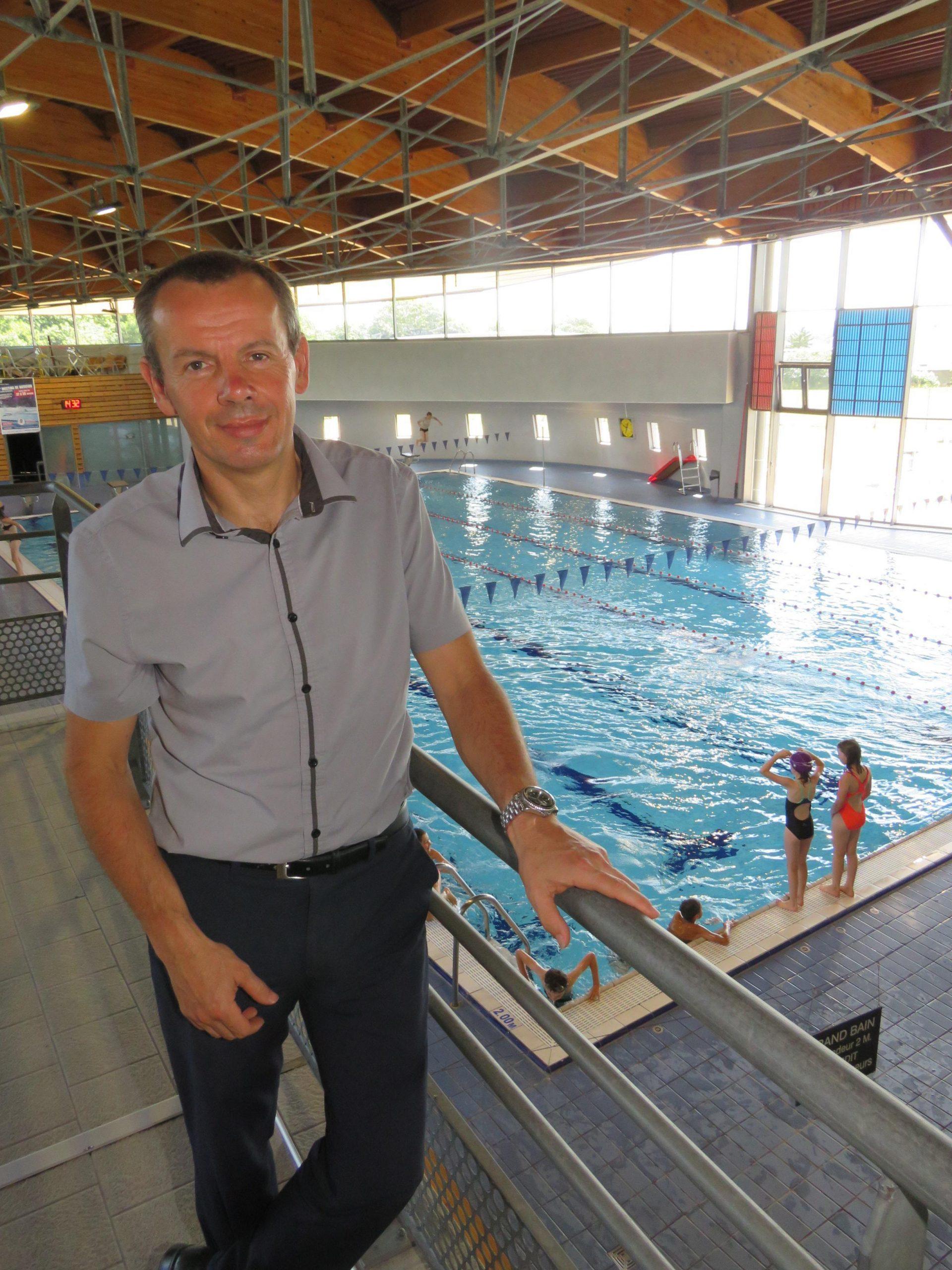 Nicolas Foll Dirige Désormais L'aquatis, Le Centre Aquatique ... tout Piscine Chartres De Bretagne
