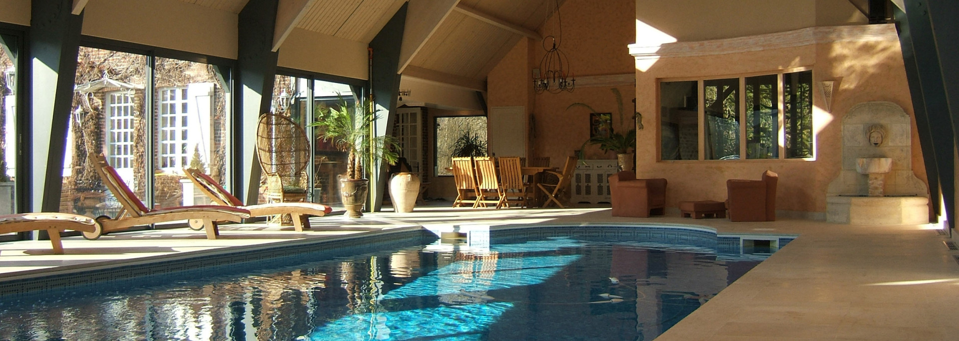 Normandie Piscines : Construction, Rénovation Et Entretien ... à Hotel Avec Piscine Normandie