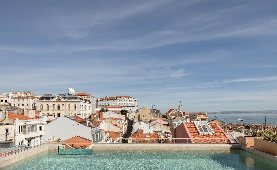 Nos Hôtels Préférés À Lisbonne   Hotel Piscine, Hotel ... dedans Hotel Lisbonne Avec Piscine