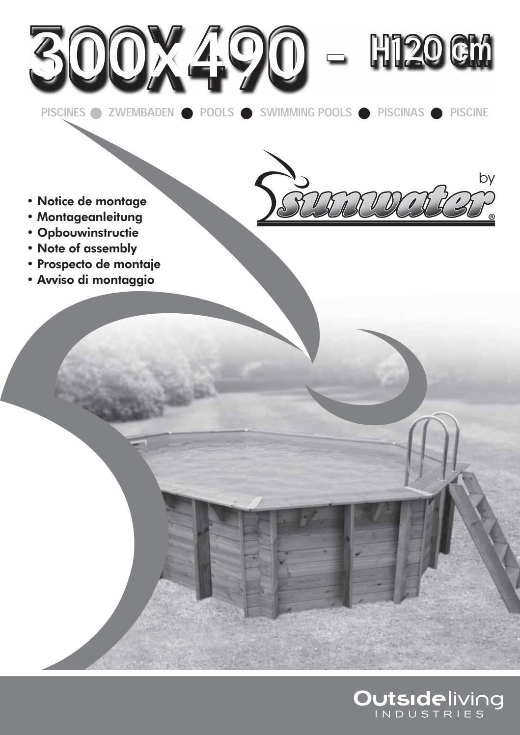 Notice 300X490 - H120-2018_1 Sunwater K.pdf By ____ - Issuu intérieur Chloramine Piscine