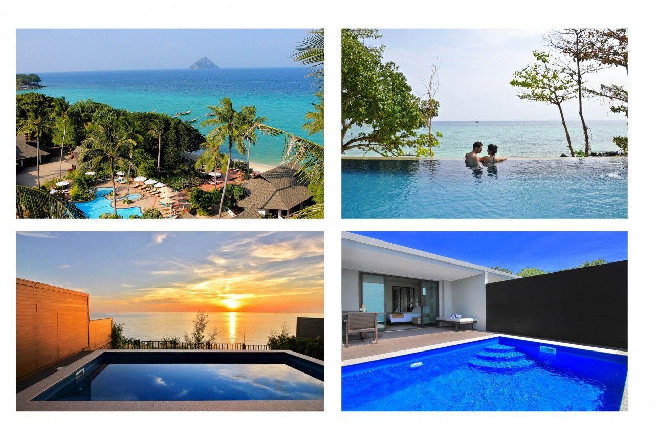 Nuit De Rêve Au L Resort À Krabi * Blog Voyage   Voyage De ... serapportantà Piscine Falaise