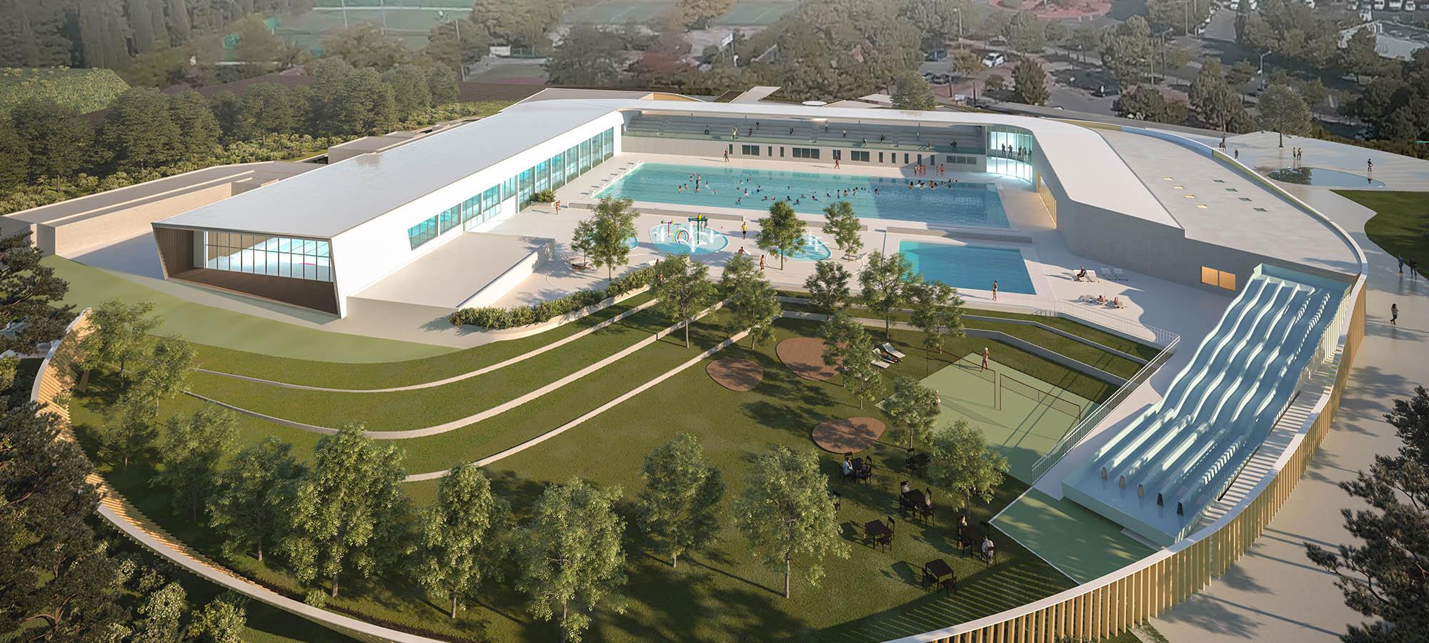 Occitanie / Montpellier : La Rénovation Du Centre Nautique ... pour Piscine Neptune Montpellier