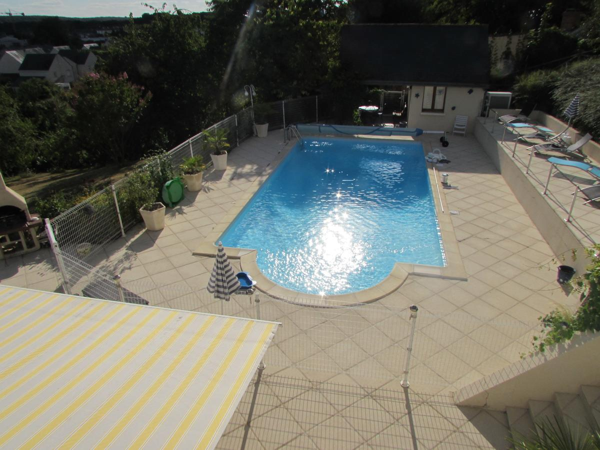 Oda Ve Kahvaltı Les Cathelinettes (Fransa Chinon) - Booking à Piscine Chambray Les Tours