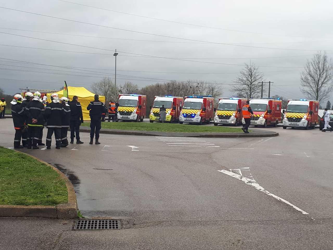 Oise : 41 Personnes Évacuées À La Piscine De Trie-Château ... concernant Piscine Abbeville