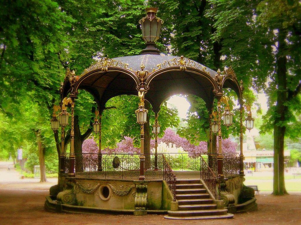 Old Gloriette - France Kiosque À Musique De Nancy (Lorraine ... destiné Piscine Pepiniere