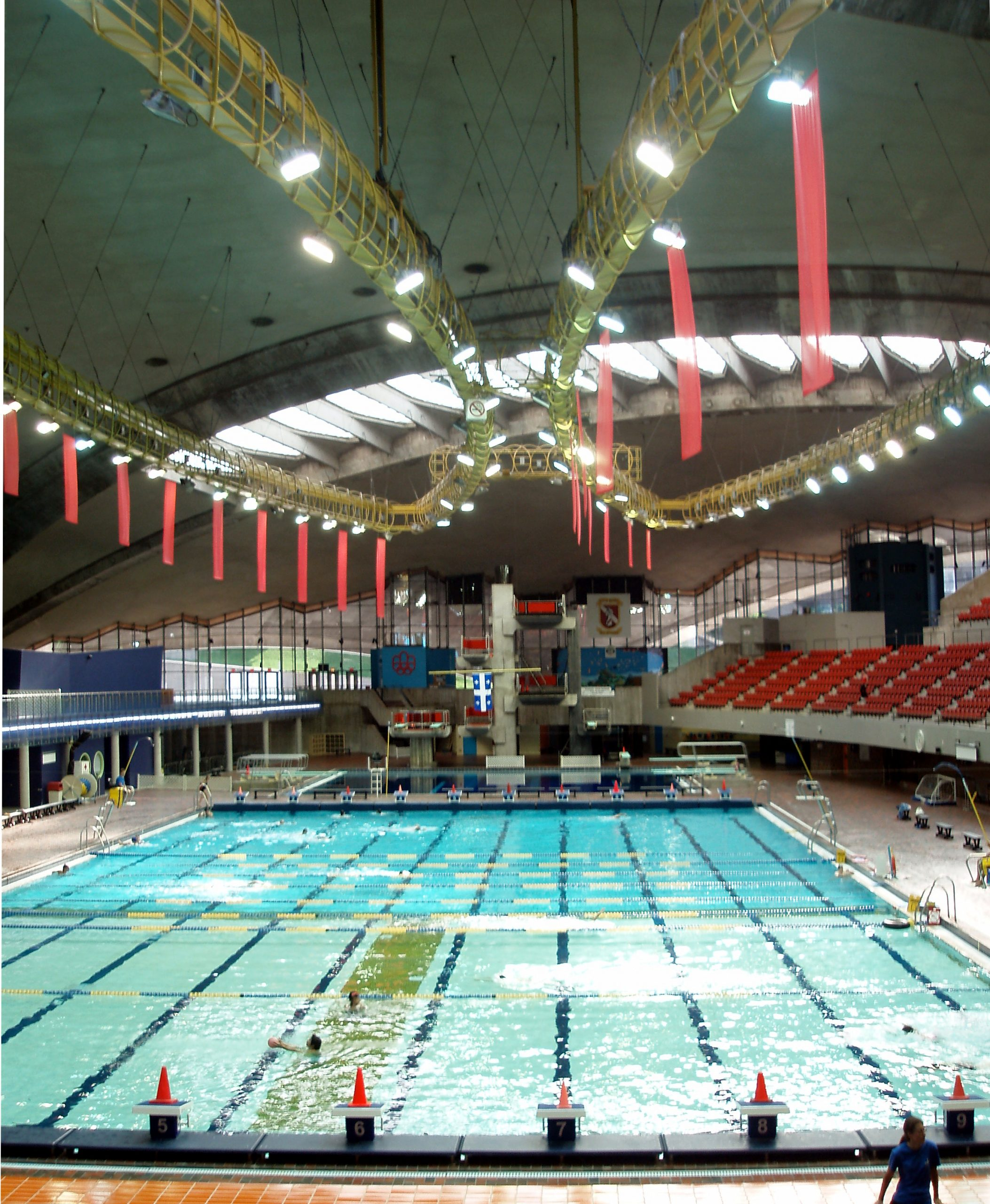 Olympic Pool, Montreal - Wikipedia dedans Piscine Square Du Luxembourg