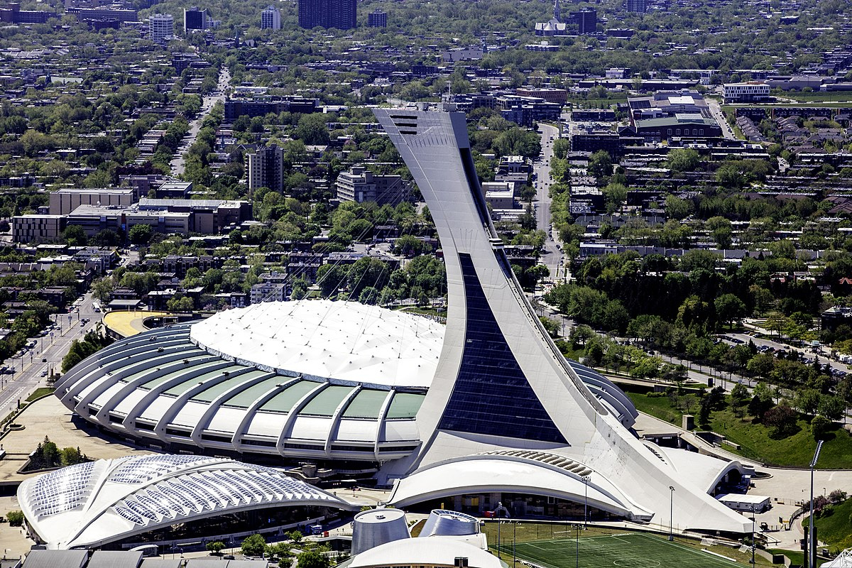 Olympic Stadium (Montreal) - Wikipedia destiné Piscine Coliseum
