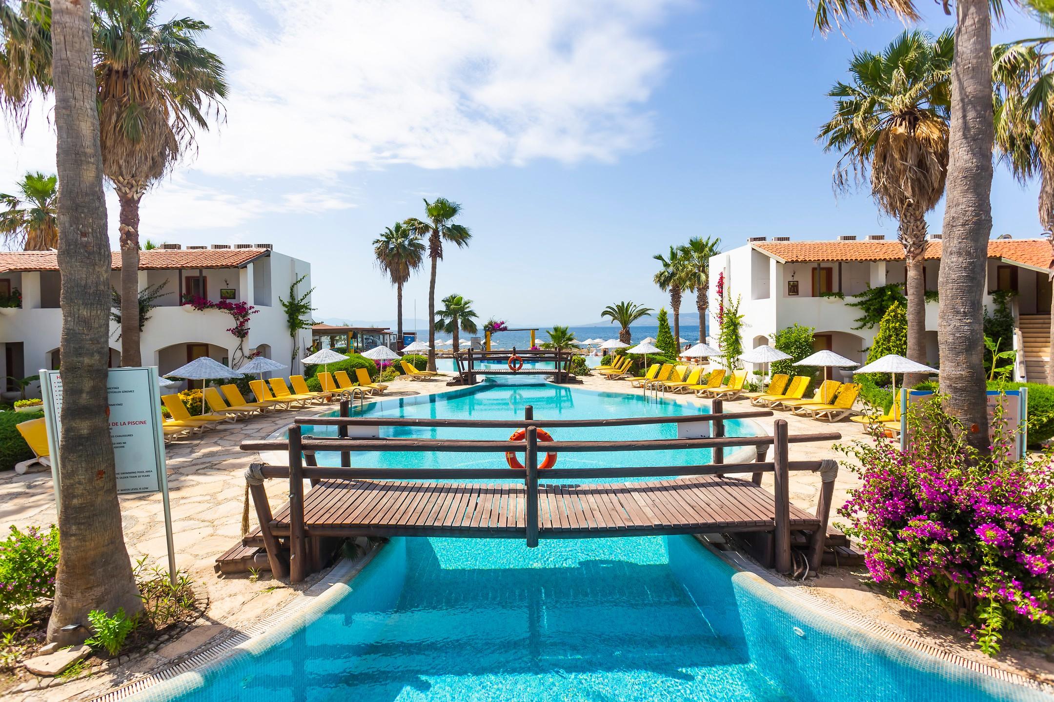 Önderhan Beach Club Hotel | Etstur avec Self Piscine