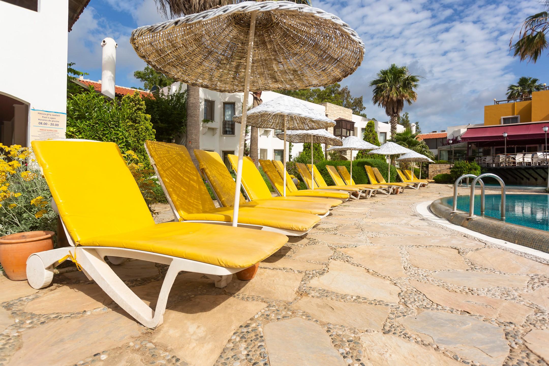 Önderhan Beach Club Hotel | Etstur destiné Self Piscine