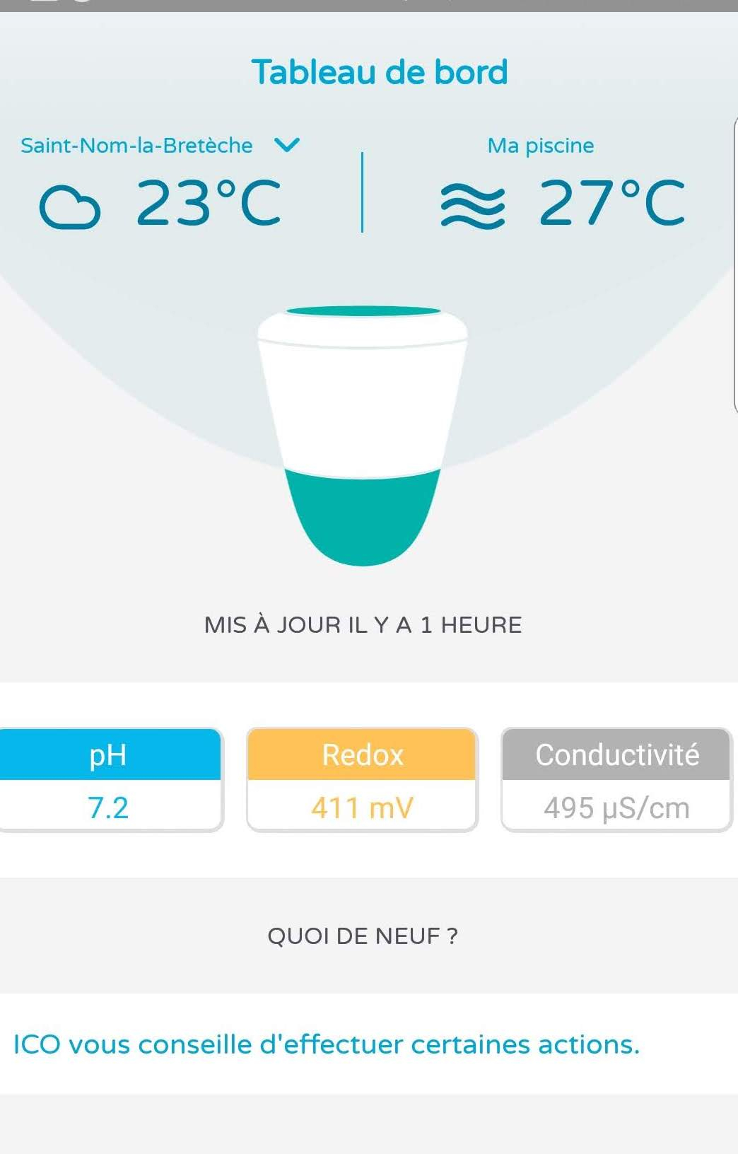 Ondilo – Îlot Connecté Pour Piscine – Test Et Avis destiné Analyse Eau Piscine