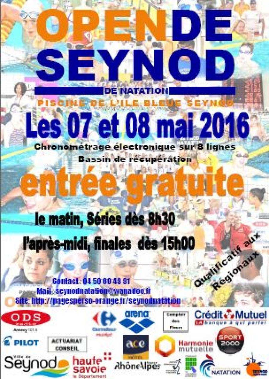 Open De Natation À Seynod - Canard Du Lac, Magazine Annecy ... avec Piscine De Seynod