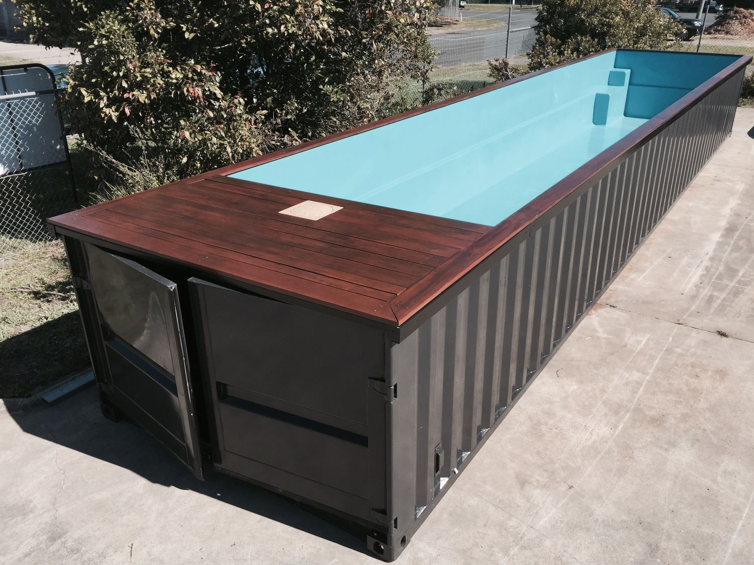 Open Fields Of Possibility! Pool Containers! - Cubner avec Piscine Conteneur