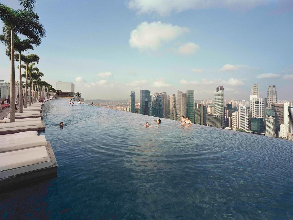 Otel Marina Bay Sands (Singapur Singapur) - Booking concernant Piscine Singapour