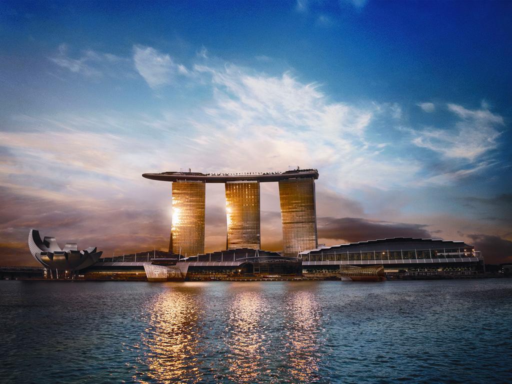Otel Marina Bay Sands (Singapur Singapur) - Booking encequiconcerne Piscine Singapour