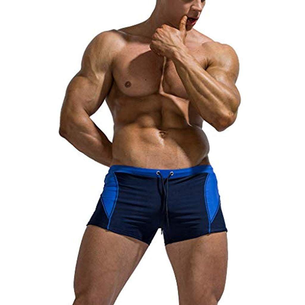 Oulian Maillot De Bain Homme Boxer De Bain Elastique Pour ... destiné Maillot De Bain Homme Piscine