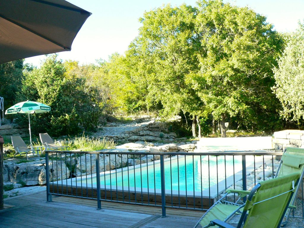 Outdoor Pool - Gite Danila & Renzo avec Piscine Lablachere
