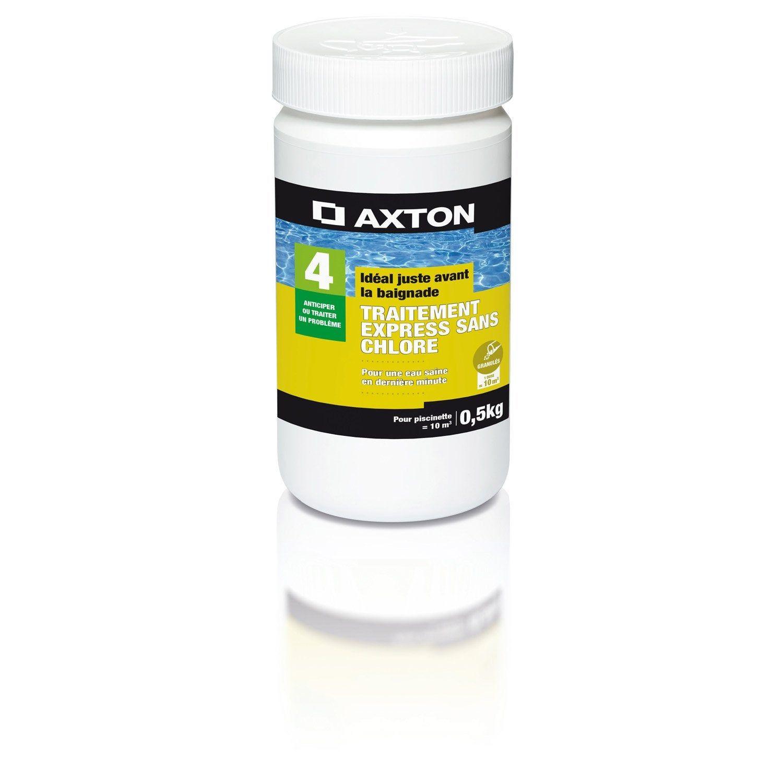 Oxygène Actif Piscine Enfant Axton, Granulé 0.5 Kg | Piscine ... dedans Traitement Piscine Oxygène Actif