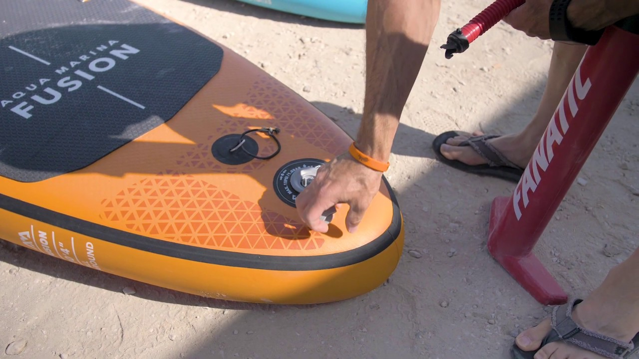 Pack Sup Paddle Gonflable Aqua Marina Fusion 10.4 | Cabesto encequiconcerne Piscine Cabesto