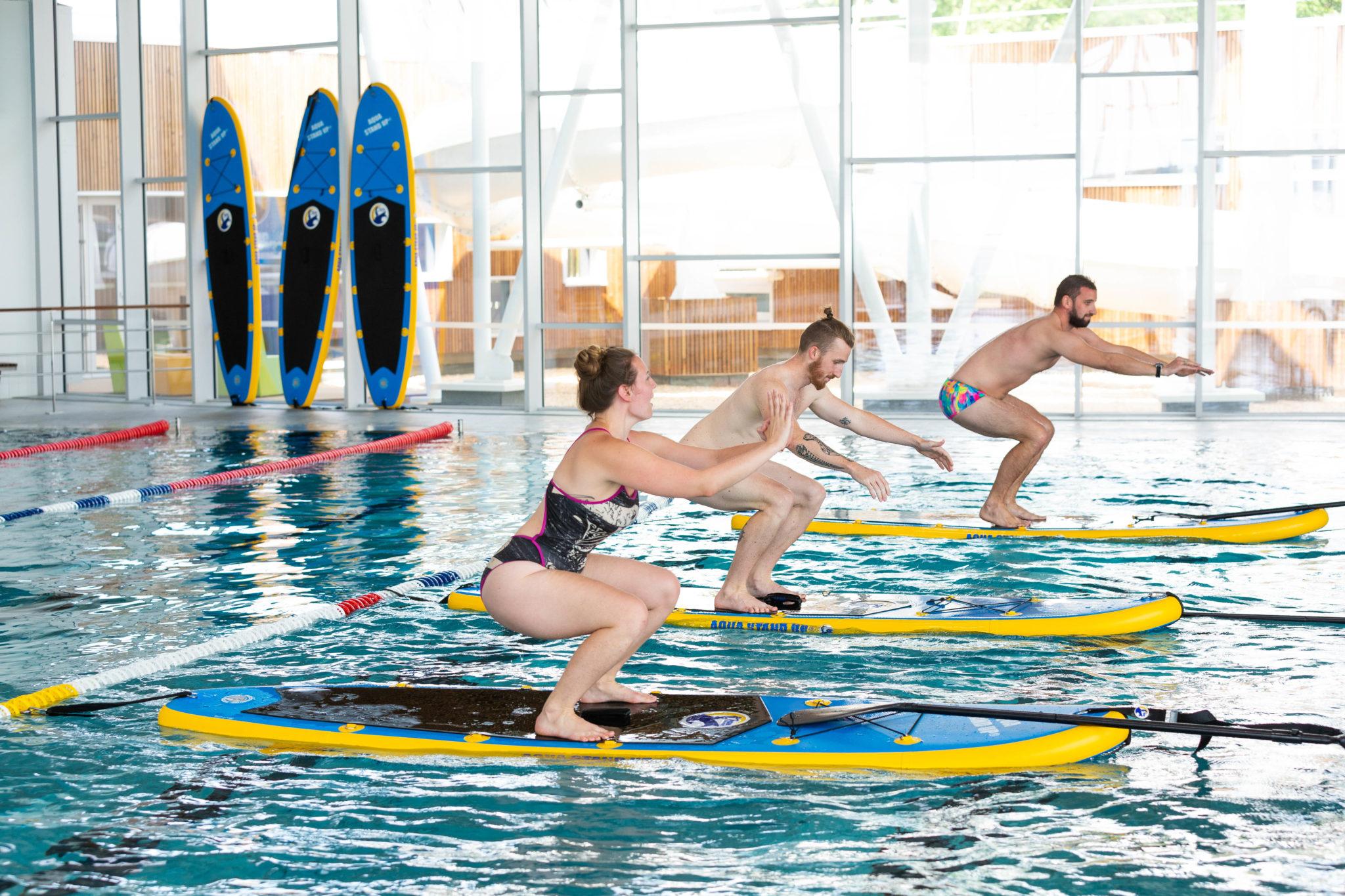 Paddle En Piscine Ou Aqua Stand Up - Aquabulles - Saint Fulgent dedans Piscine Boufféré