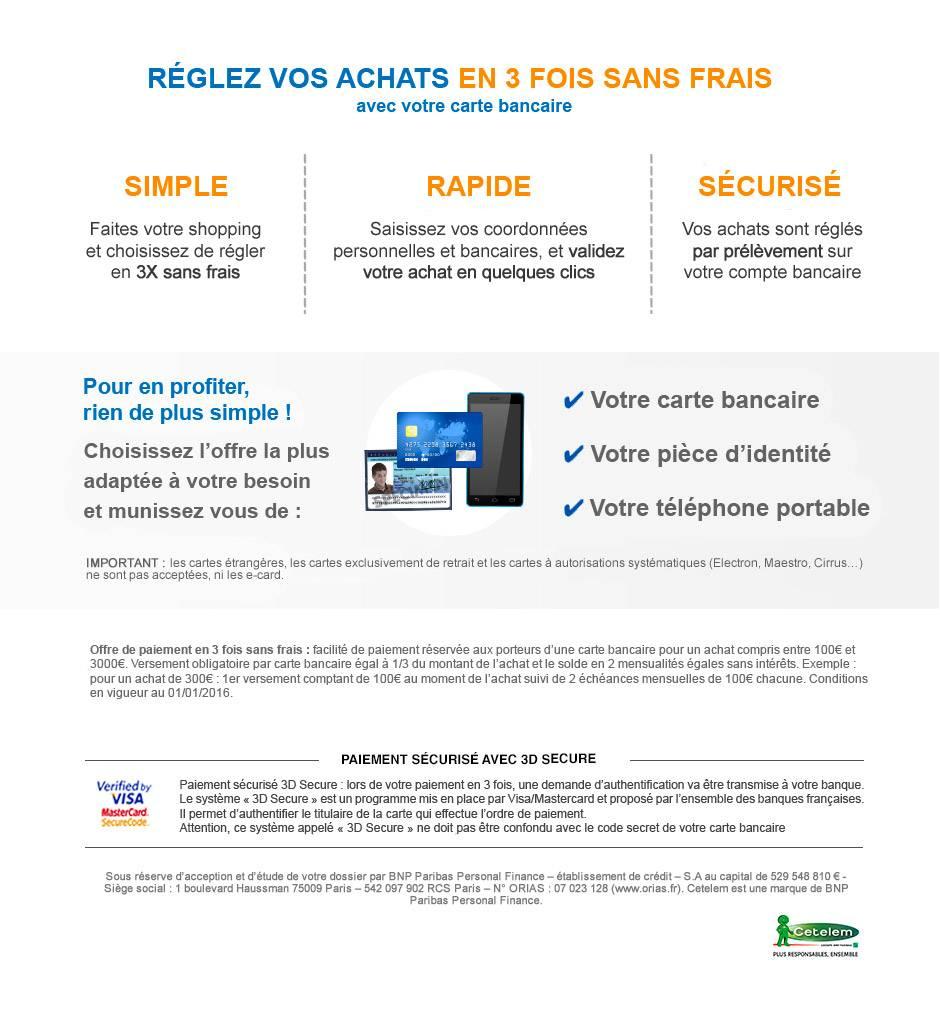 Paiement 3 Fois Sans Frais serapportantà Piscine Autoportée Leclerc