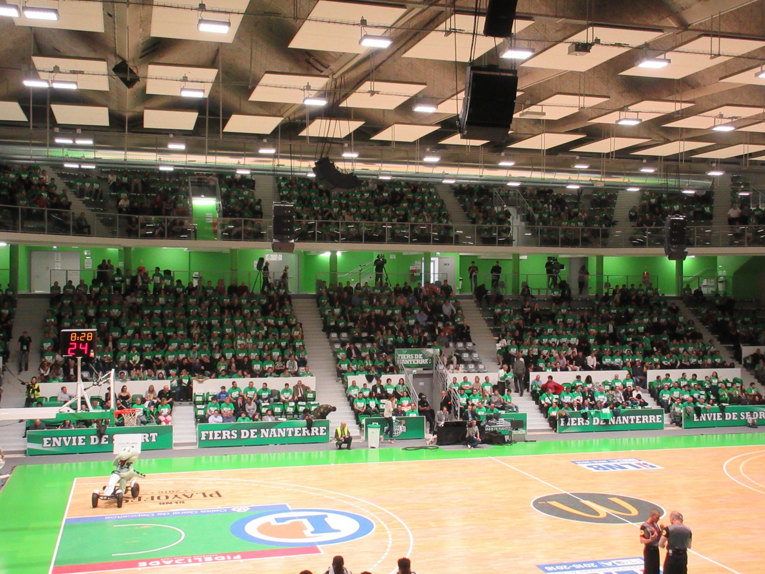 Palais Des Sports Maurice Thorez - Wikipedia tout Piscine Du Palais Des Sports À Nanterre Nanterre