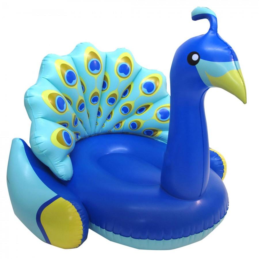 Paon Gonflable Pour Piscine - Funshine - Aquattitude à Animaux Gonflable Pour Piscine