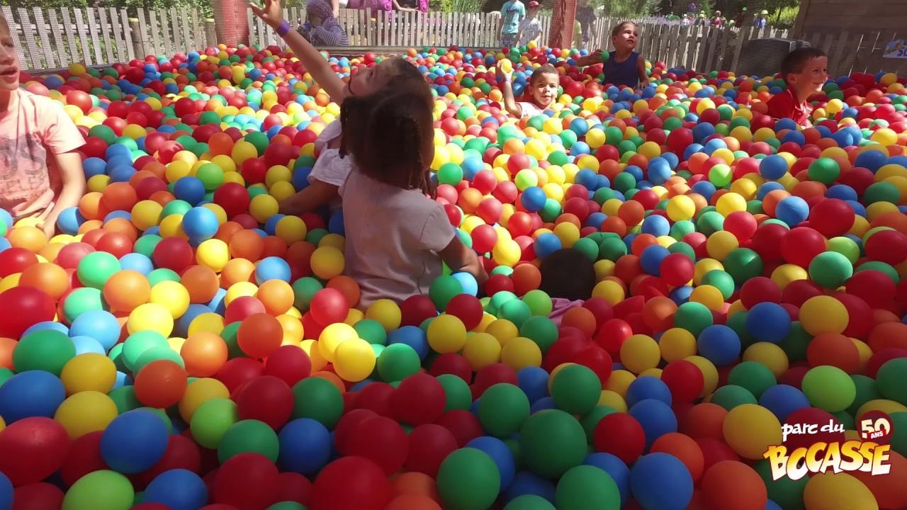 Parc Du Bocasse - Vidéo Attraction - Piscines À Balles serapportantà Piscine À Balle
