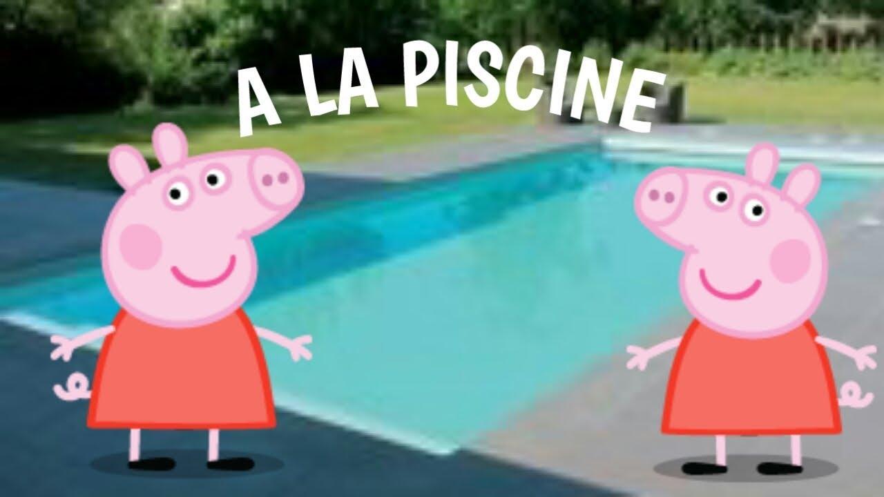 Parodie Peppa Pig À La Piscine !! intérieur Peppa Pig À La Piscine