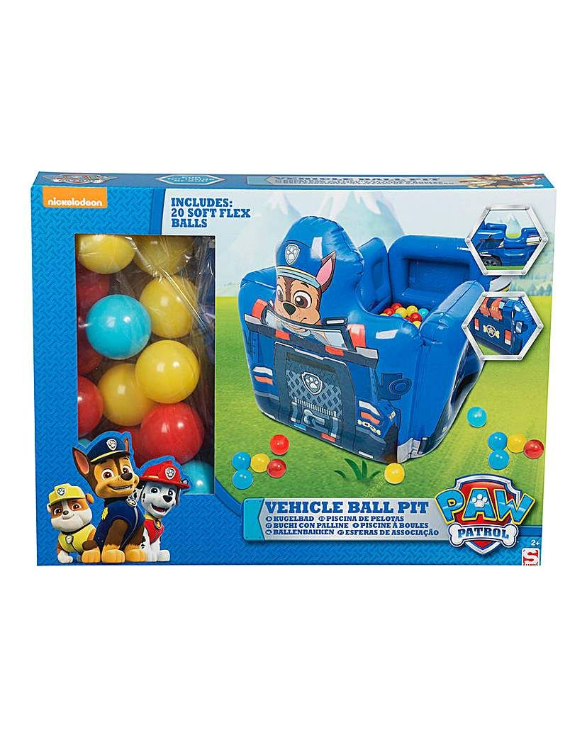 Paw Patrol Chase Ball Pit With Balls | Ball Pit, Paw Patrol ... concernant Piscine A Balle Toysrus