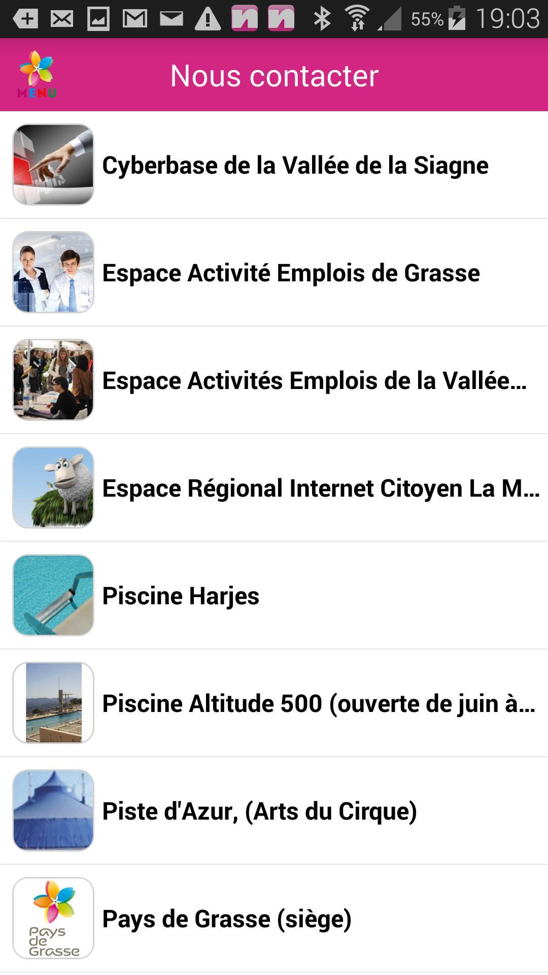 Pays De Grasse For Android - Apk Download dedans Piscine Harjes