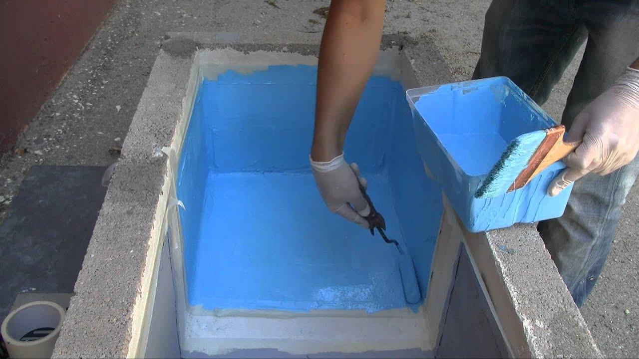 Peinture Piscine Protection Et Décoration Support Béton Et Ciment Mise En  Oeuvre Facile destiné Peinture Piscine Béton
