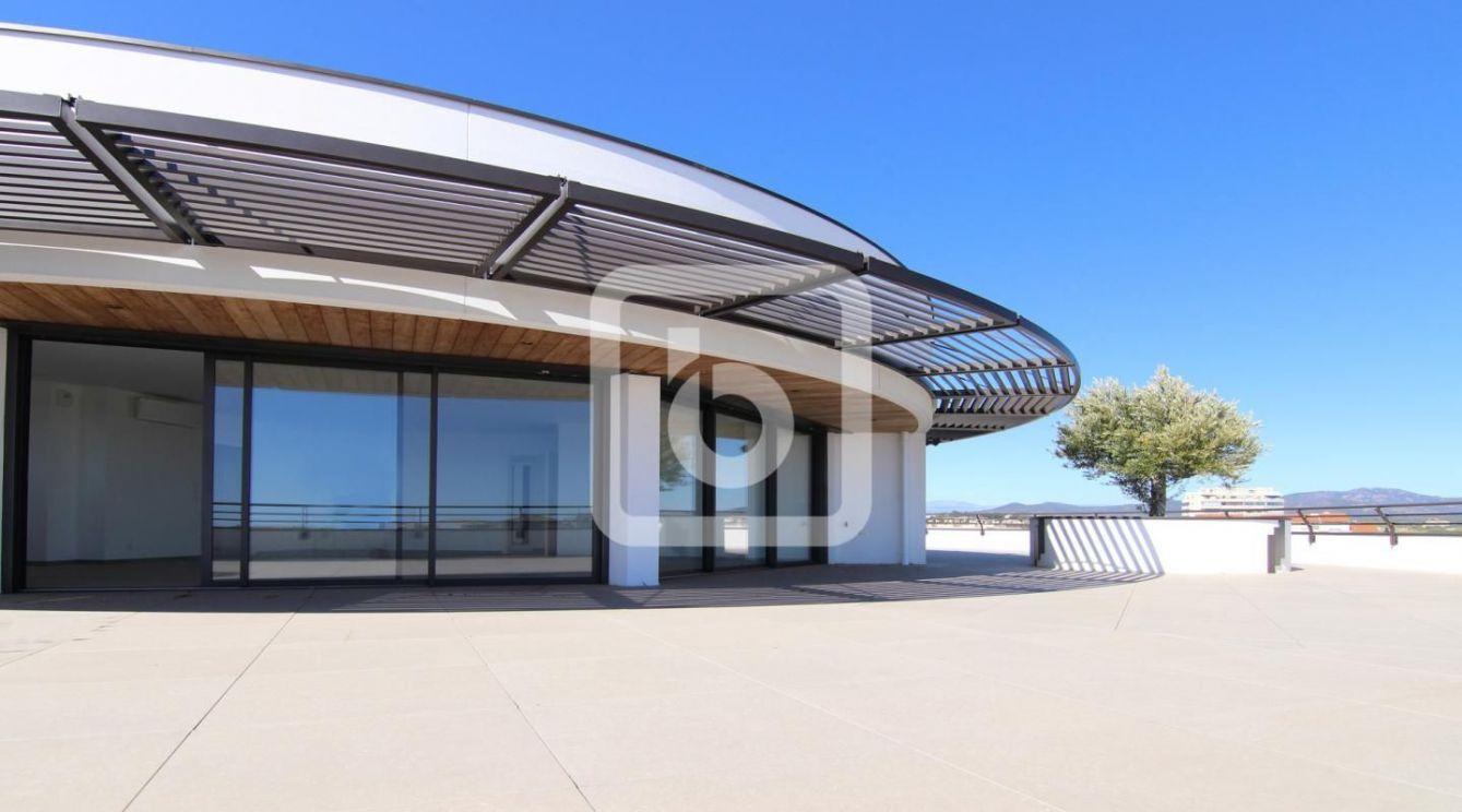 Penthouse Avec 400M2 De Terrasse À 360 Degrés Proche Mer Entre Cannes Et  Saint-Tropez 83600 Frejus à Piscine Cournonterral
