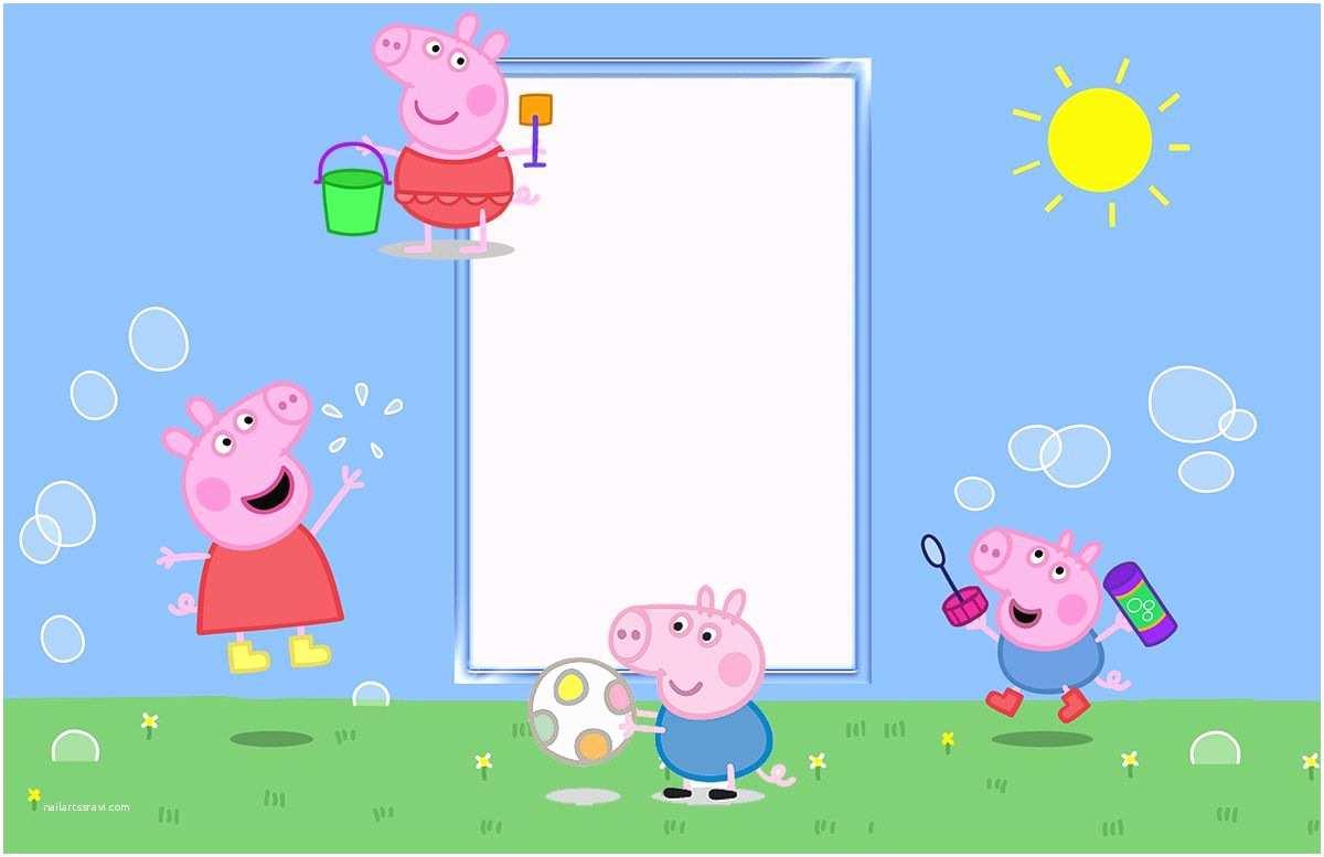 Peppa Pig Birthday Invitations Cu829 Peppa Pig Birthday ... serapportantà Peppa Pig À La Piscine
