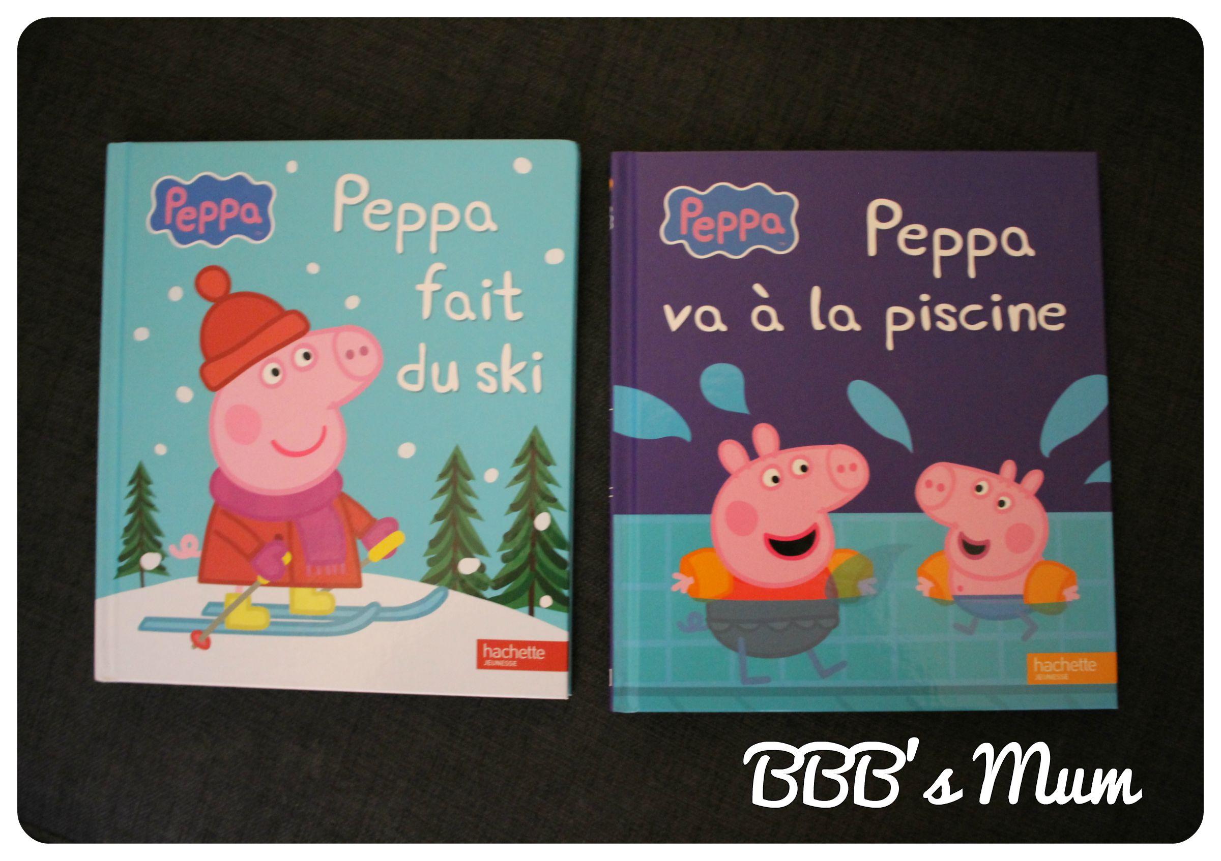 Peppa Pig Fait Son Entrée Dans Notre Bibliothèque | Bbb's Mum avec Peppa Pig À La Piscine