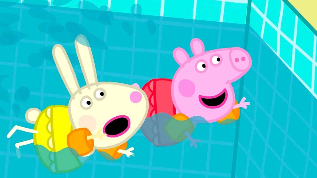 Peppa Pig Français | Peppa Va À La Piscine | 2018 Compilation | Dessin Animé avec Peppa Pig À La Piscine
