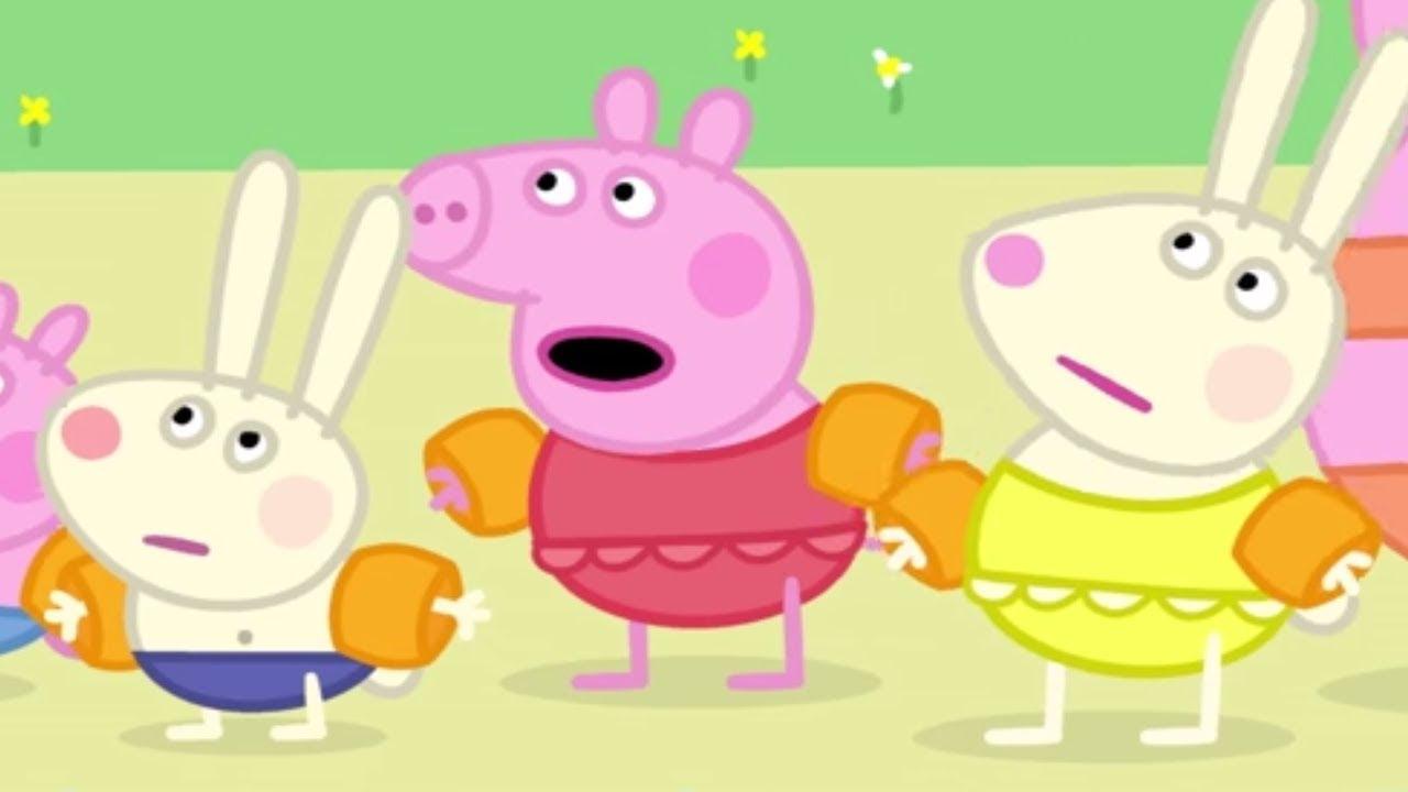 Peppa Pig Français | Tous À La Piscine! | Compilation destiné Peppa Pig À La Piscine