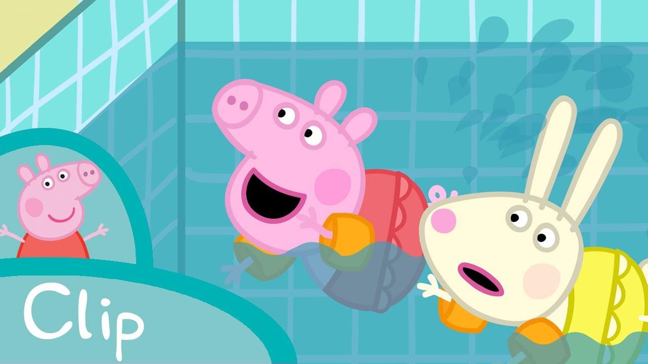 Peppa Pig Français | Tous À La Piscine! destiné Peppa Pig A La Piscine