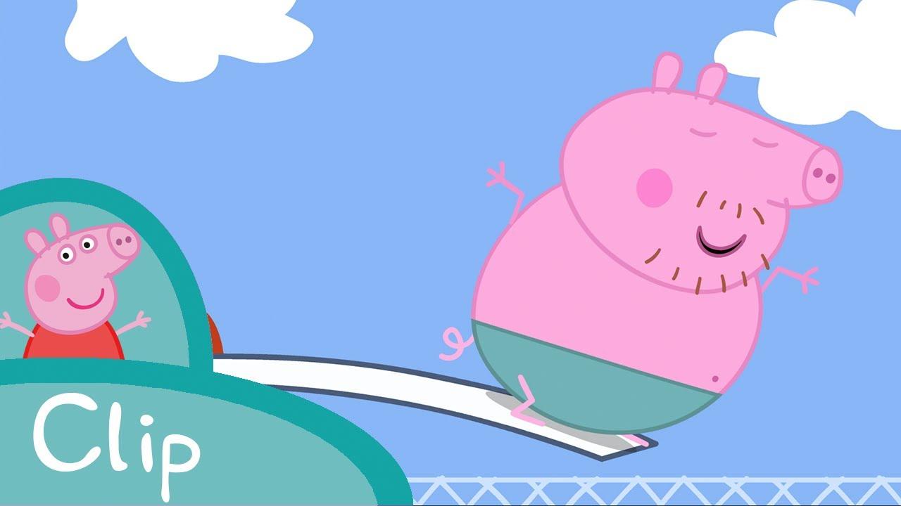 Peppa Pig Français | Tous À La Piscine! encequiconcerne Peppa Pig A La Piscine