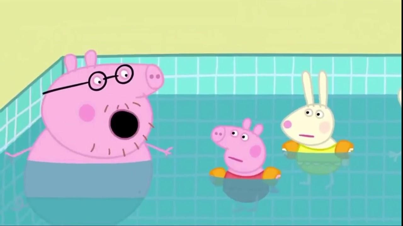 Peppa Pig Français./ Tous À La Piscine! tout Peppa Pig A La Piscine