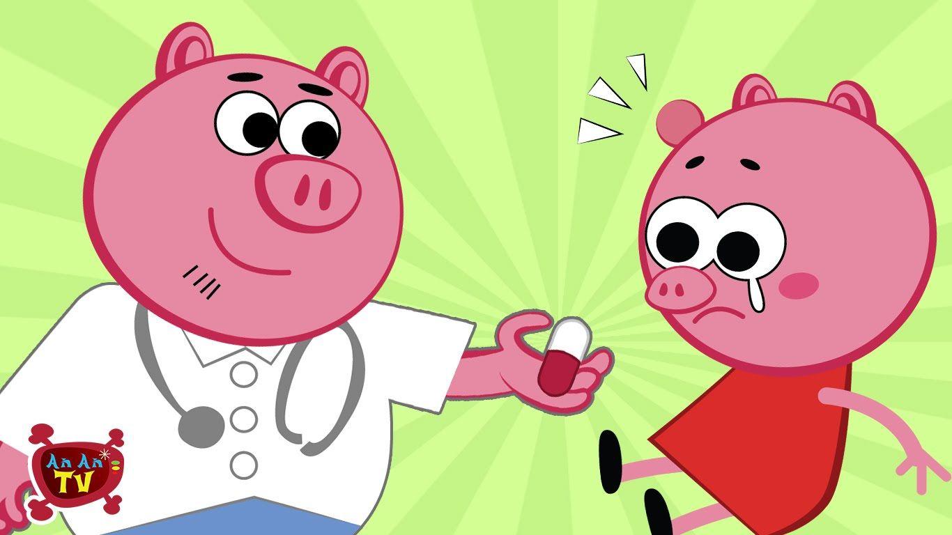 Peppa Pig Funny Story | Peppa Pig Doctor Vs Upin Ipin à Peppa Pig À La Piscine