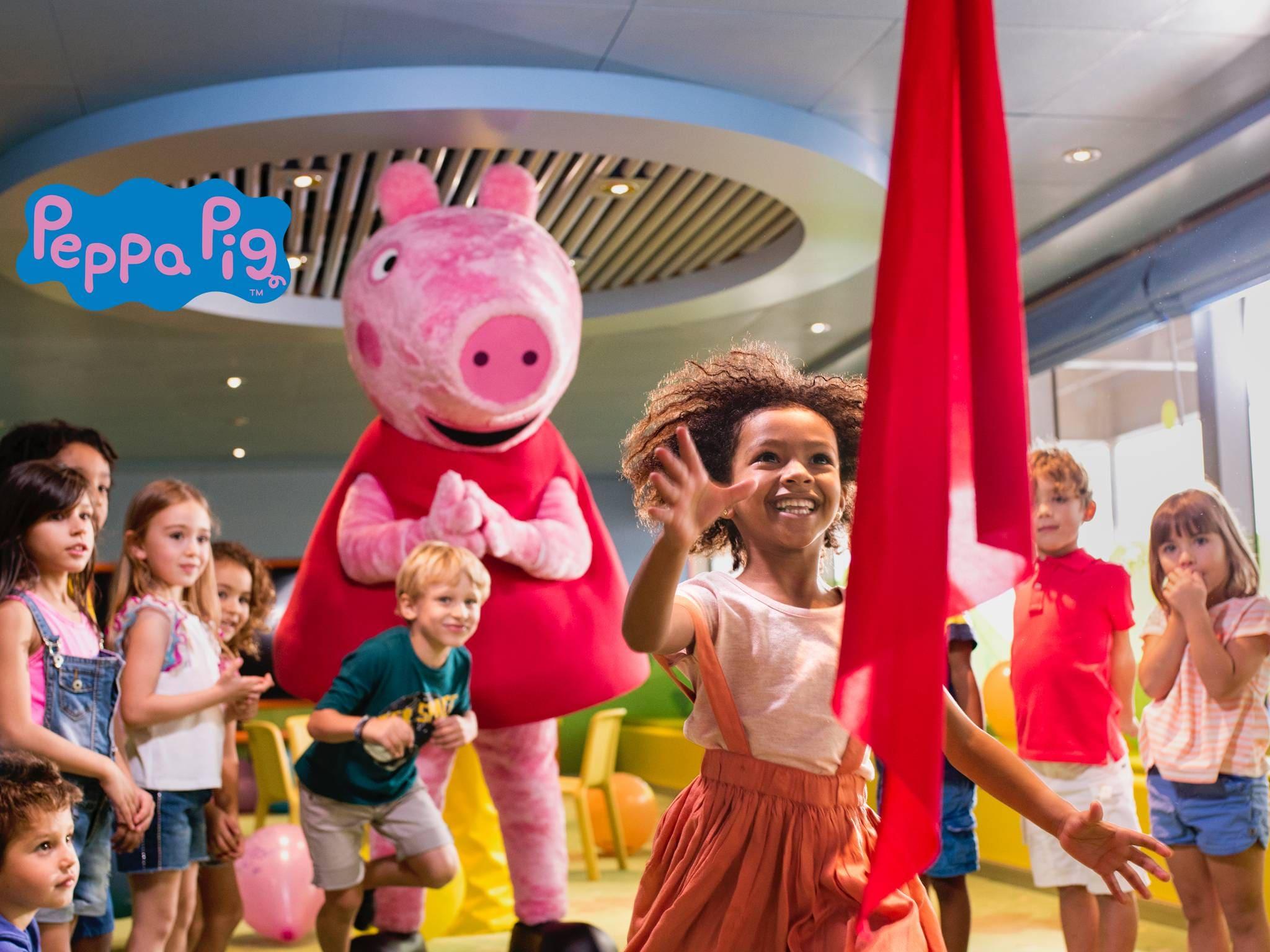 Peppa Pig, Le Divertissement Pour Enfant | Costa Croisières encequiconcerne Peppa Pig À La Piscine